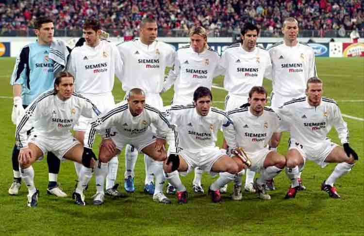 Galacticos Real Madrid