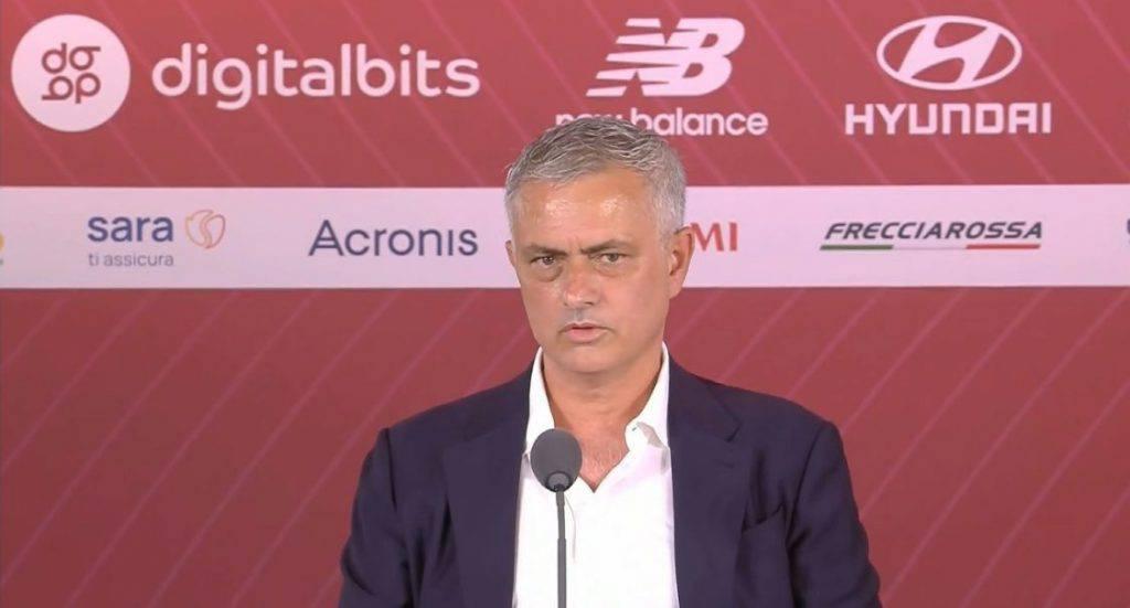 Mourinho conferenza Roma