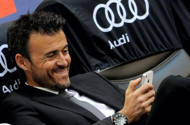 Il CT spagnolo e la Serie A (Getty Images)