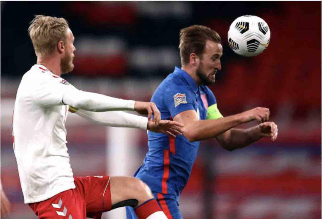 Inghilterra-Danimarca Kjaer sfida Kane (Getty Images)
