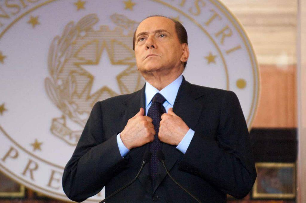 Italia-Inghilterra Berlusconi post (Getty Images)