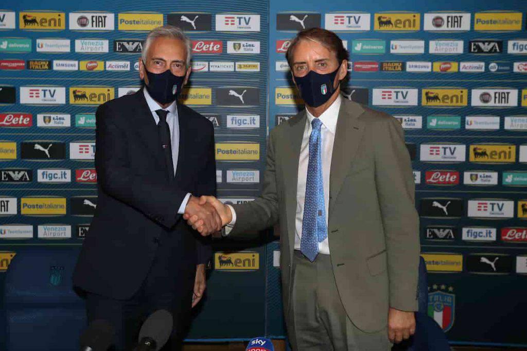 Italia Mancini e Berrettini in finale (Getty Images)