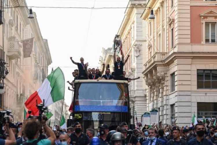 Italia sfilata Roma