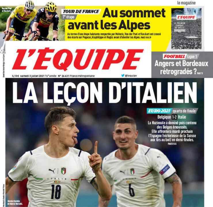 Italia stampa estera