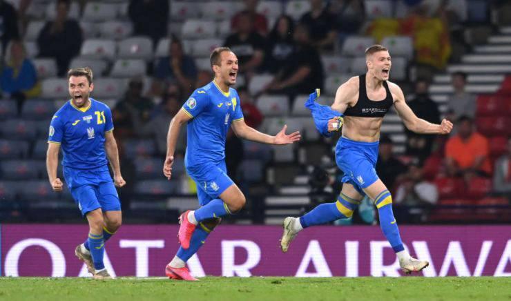 Ucraina-Inghilterra