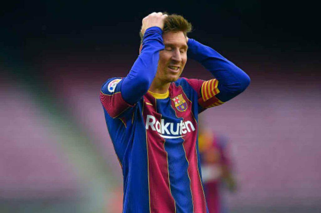 L'argentino aiutato dal Barcellona (Getty Images)