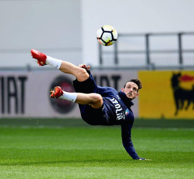 L'ex Roma sorprende in allenamento con l'Italia (Getty Images)