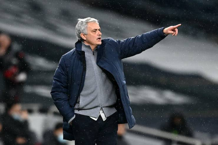 Lo Special One si presenta in giallorosso (Getty Images)