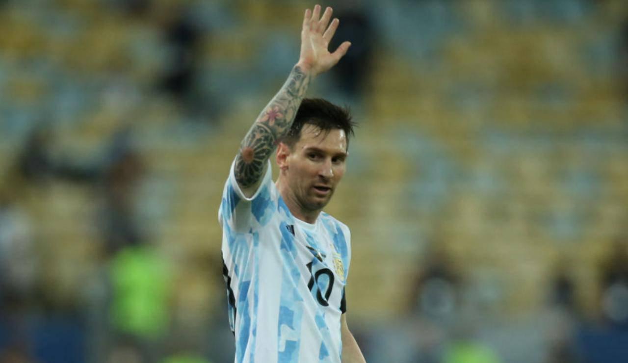 Messi futuro
