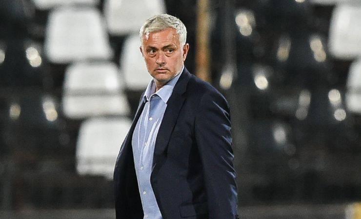 mourinho allenatore roma