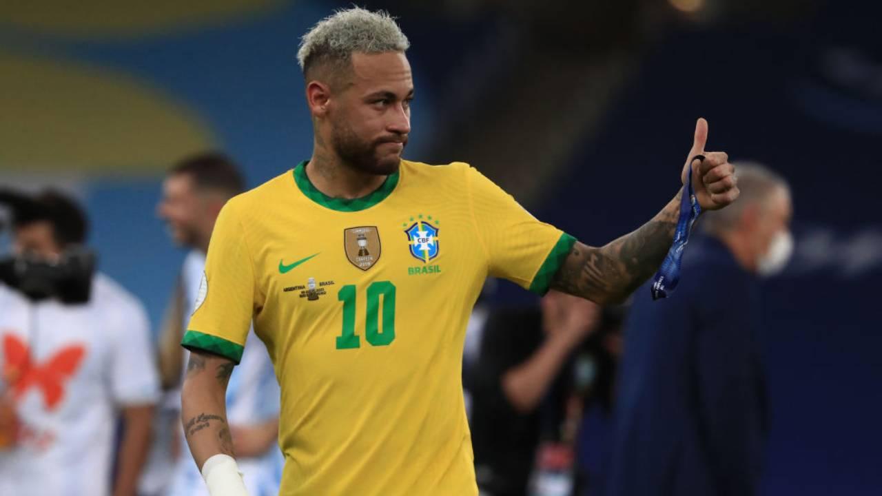 Neymar Messi Copa America