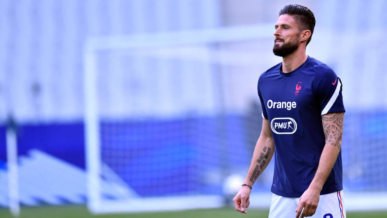 Giroud Milan Visite