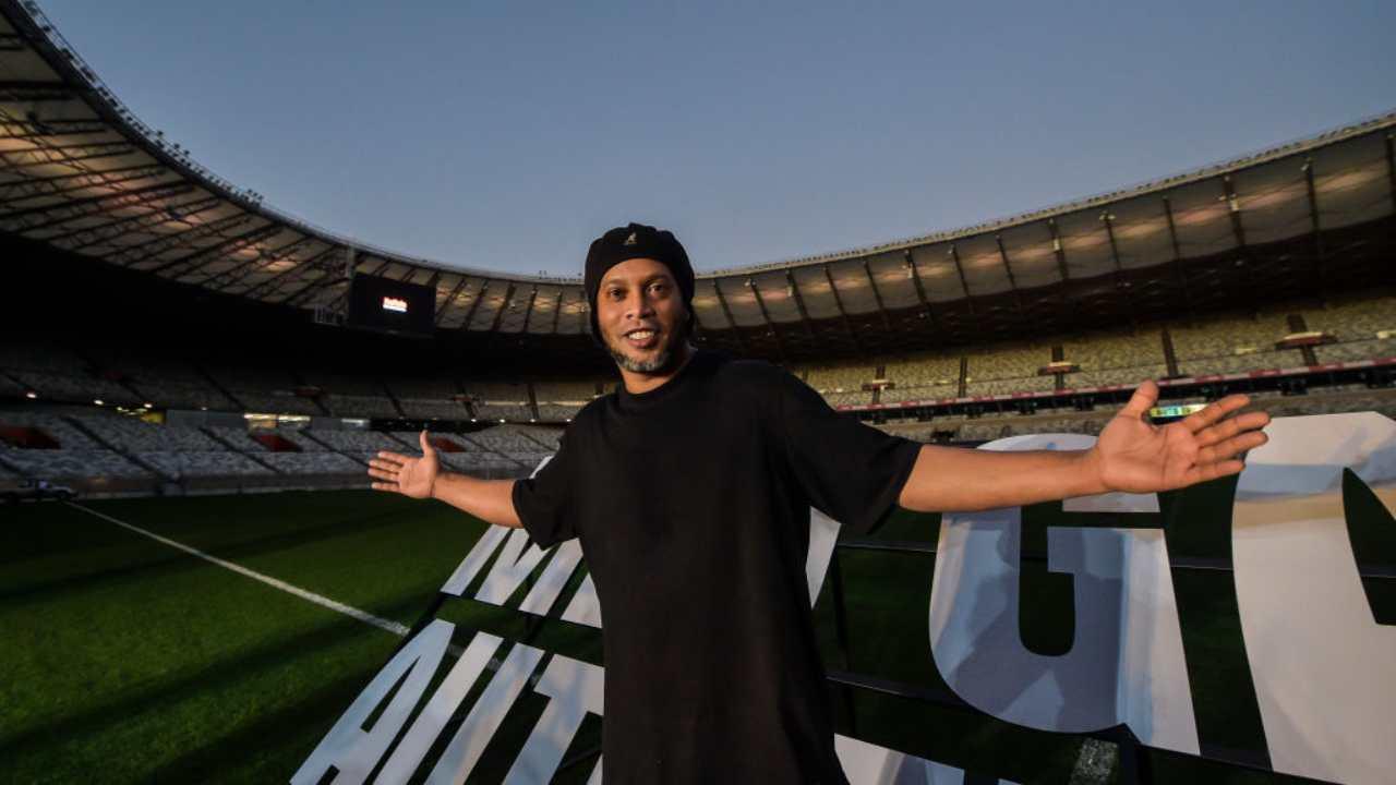 Ronaldinho Autografo