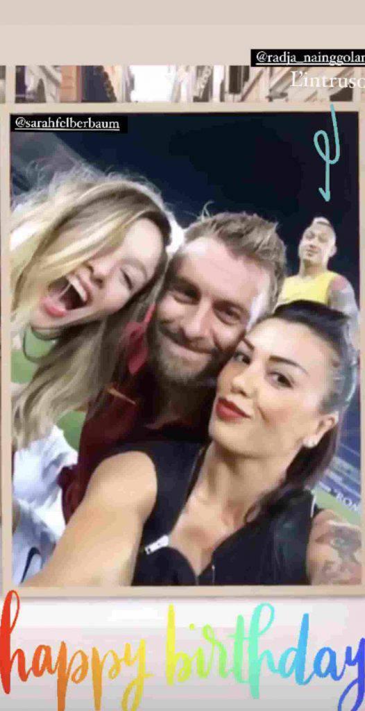 Selfie compleanno DDR (Instagram)