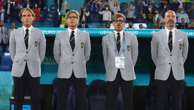Mancini Vialli staff Italia