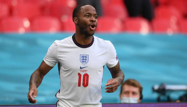Sterling attaccante