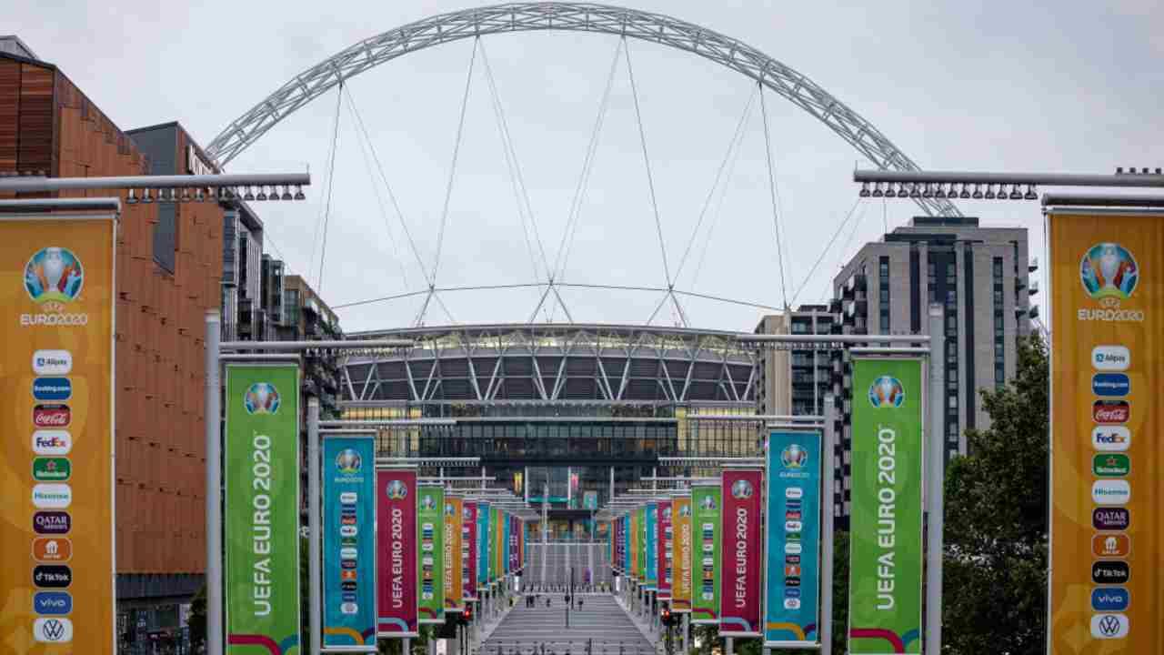 Italia Inghilterra Tifosi Wembley