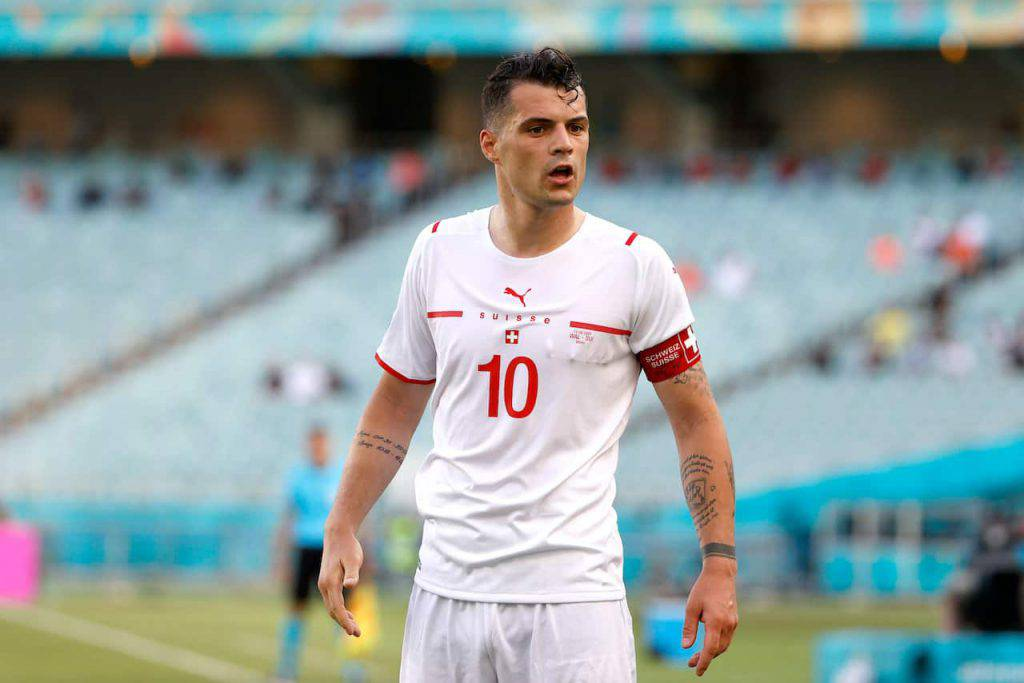 Xhaka segnale a Roma e Juve (Getty Images)