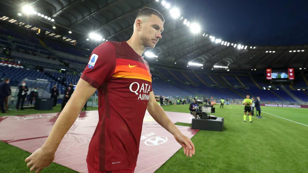 Roma-Ternana 2-0, Dzeko torna capitano ma non segna: gli highlights