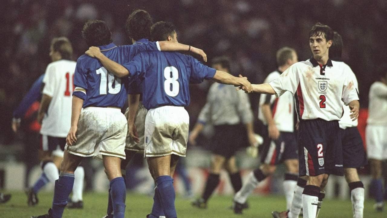 Italia-Inghilterra, le ultime sfide a Wembley
