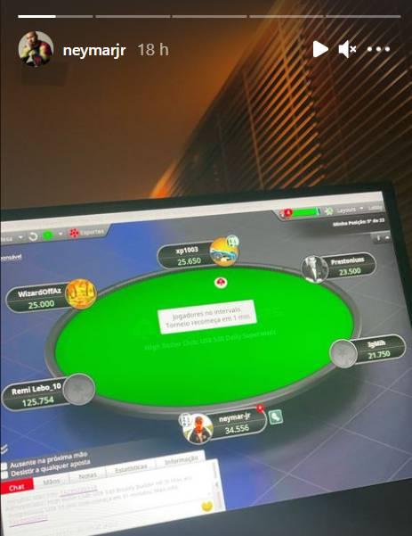 neymar poker