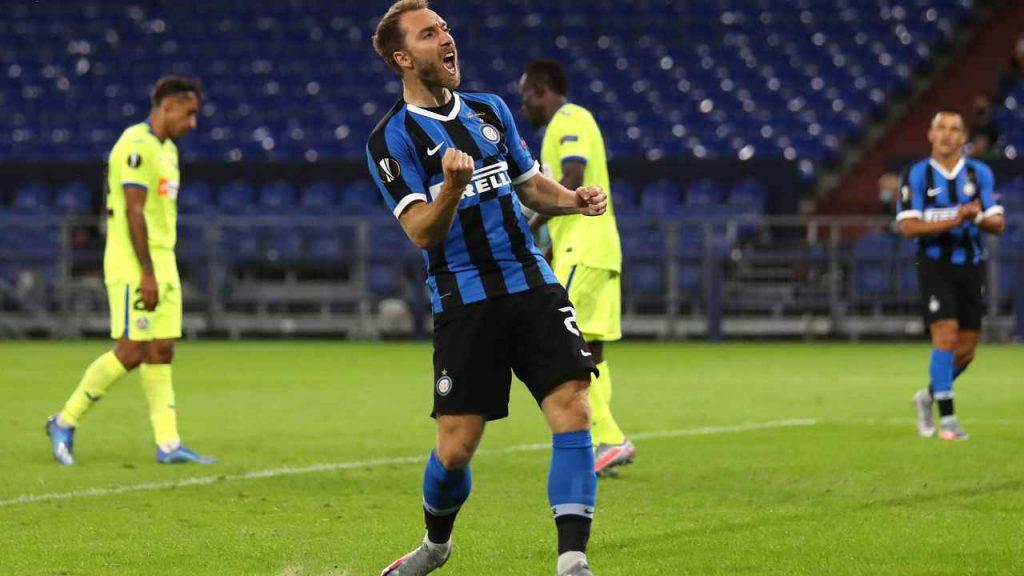 Christian Eriksen, il gesto a sorpresa che ha commosso l'Inter