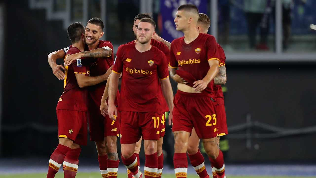 Roma-Fiorentina LIVE