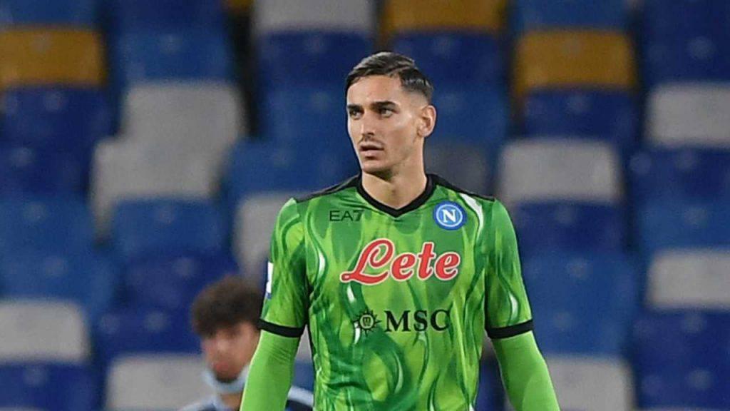 Alex Meret portiere del Napoli