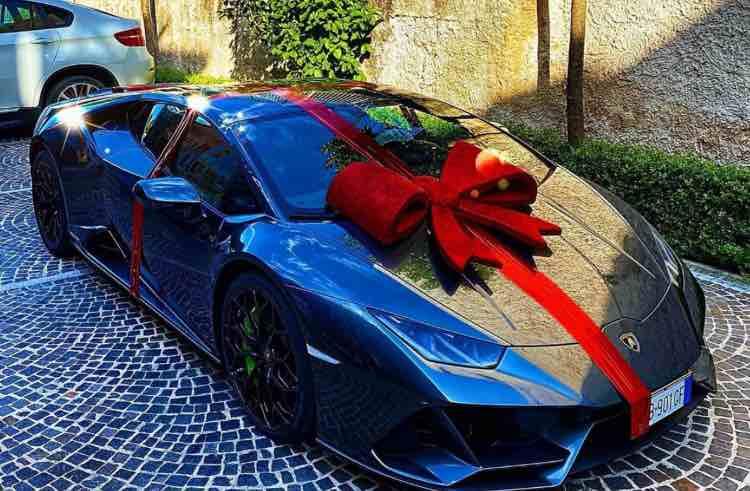 Lorenzo Insigne auto