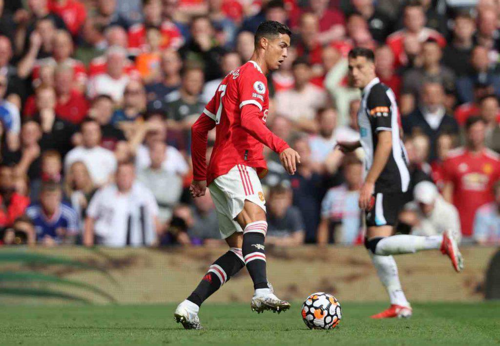Cristiano Ronaldo doppietta Manchester United