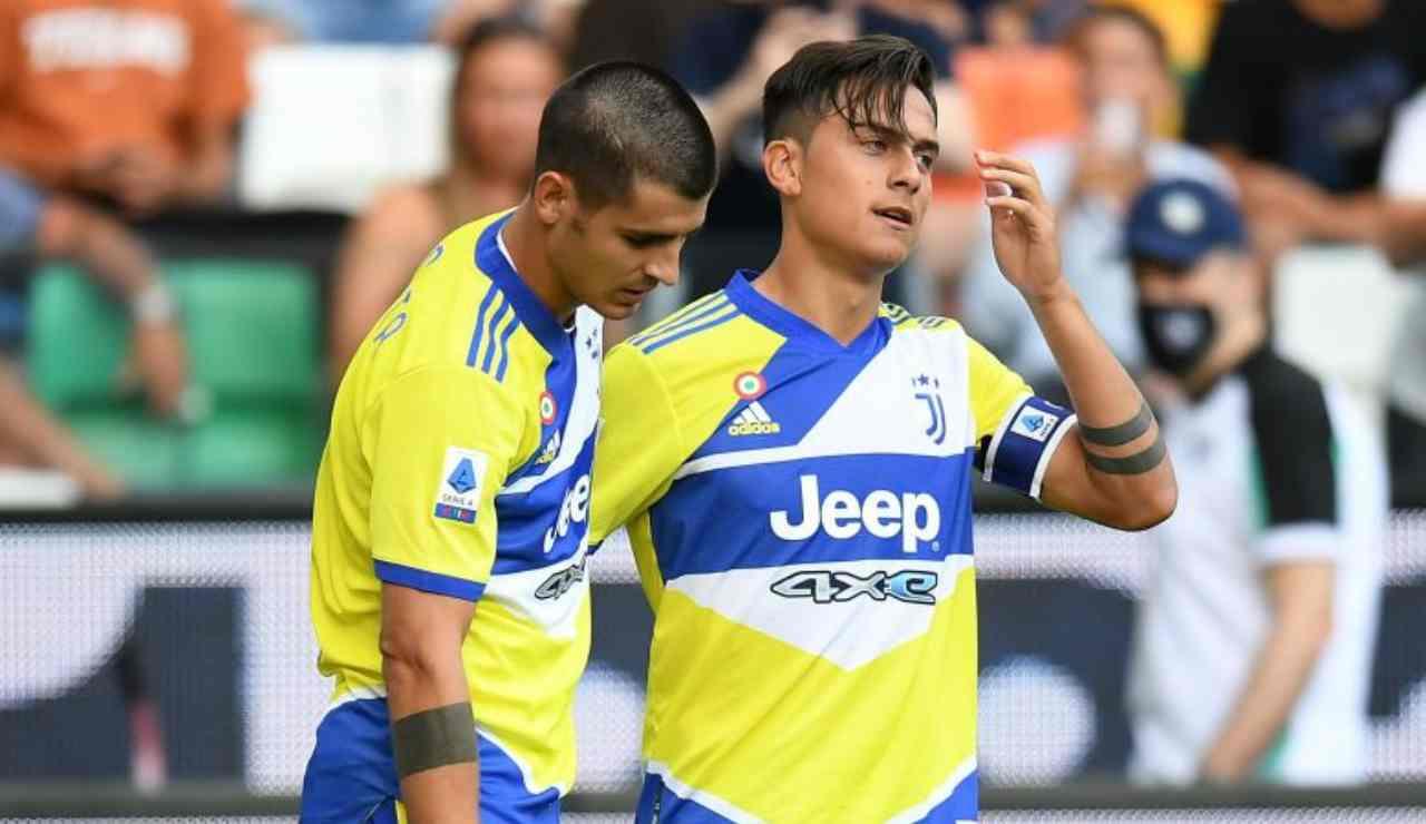 Juve-Roma Dybala Morata