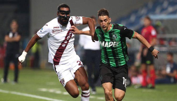 Highlights Sassuolo-Torino