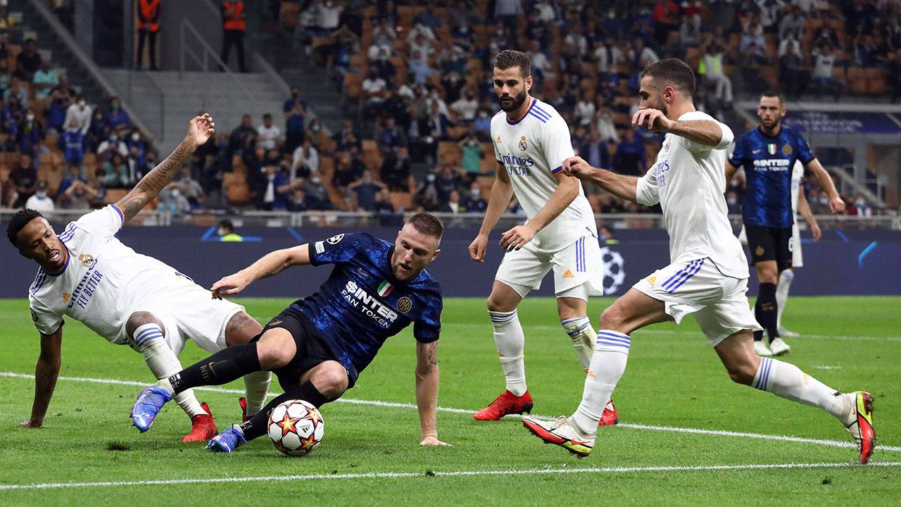 Inter Real Madrid Pagelle