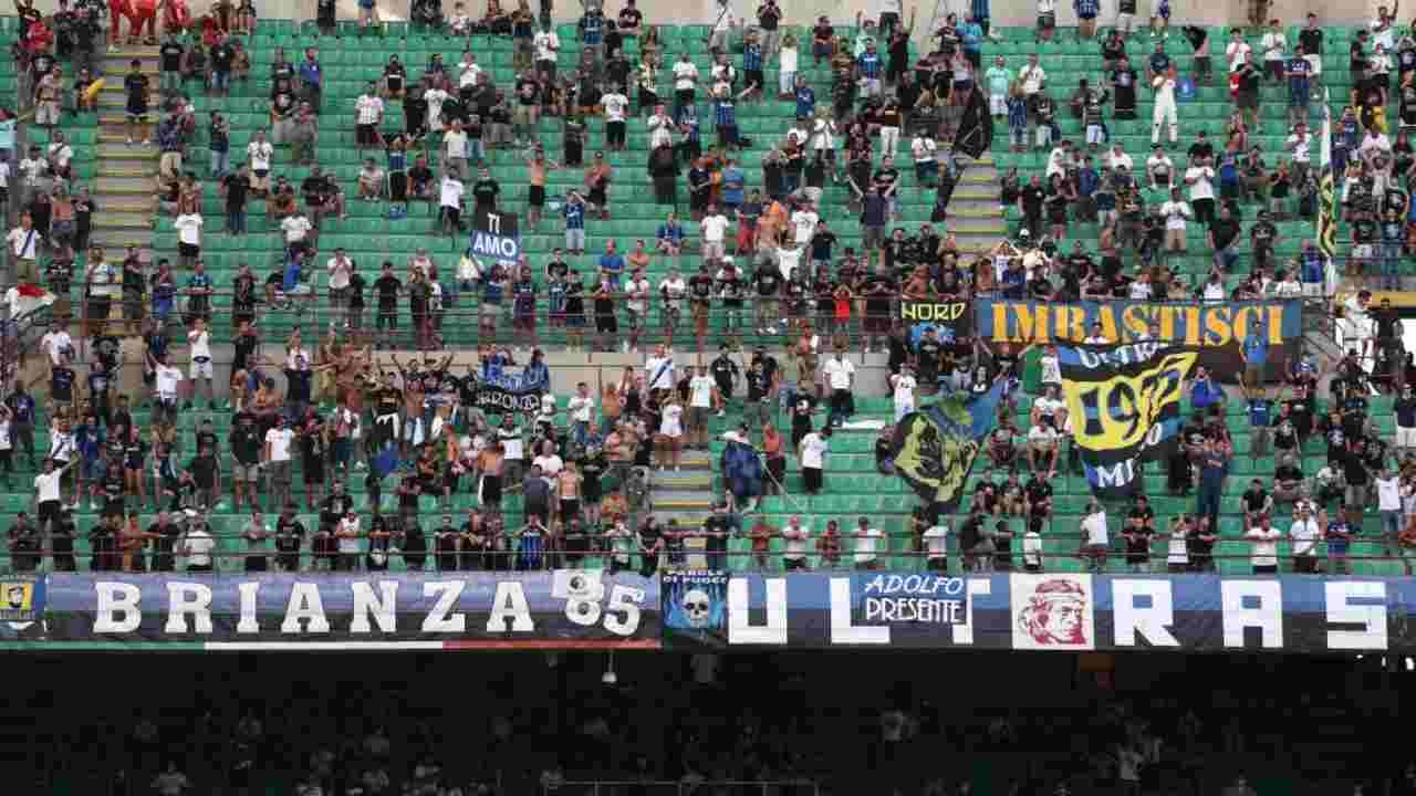 Sampdoria Inter Coro Tifosi