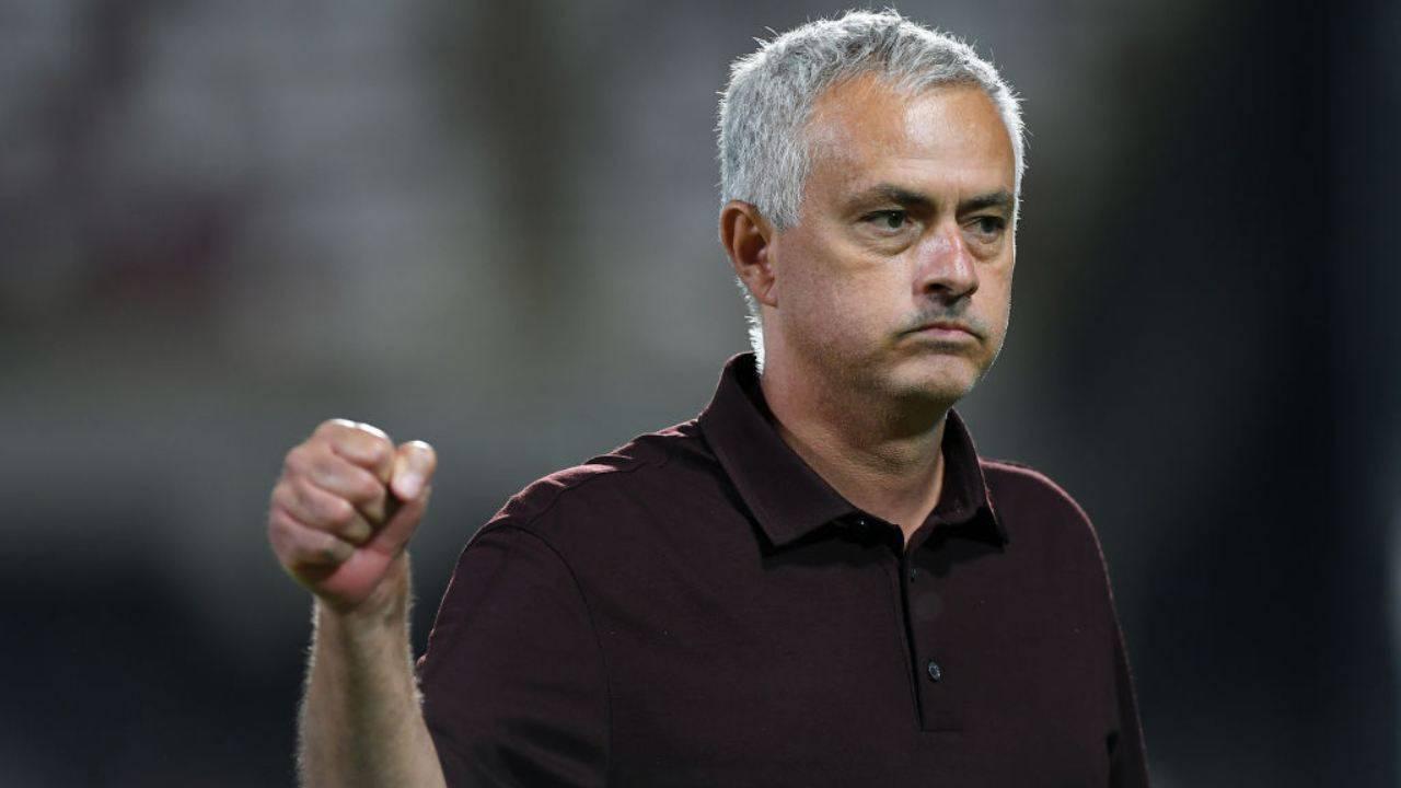 Mourinho Mazzone Roma