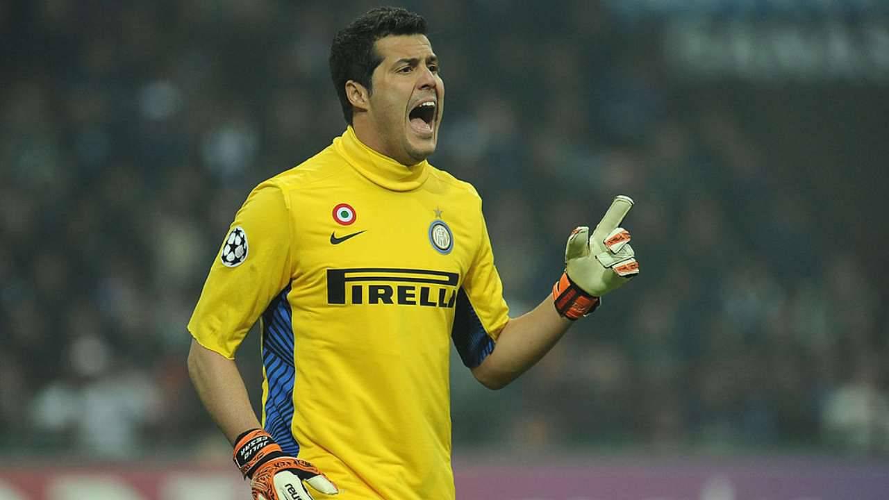 Julio Cesar Calcetto Inter