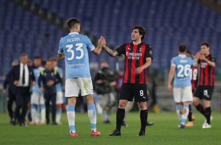 LIVE Milan-Lazio