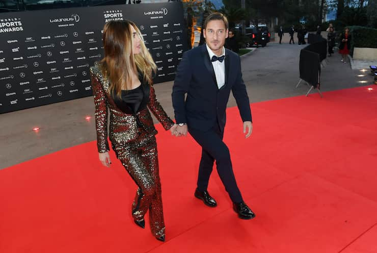 Lady Totti su Canale 5 (Getty Images)