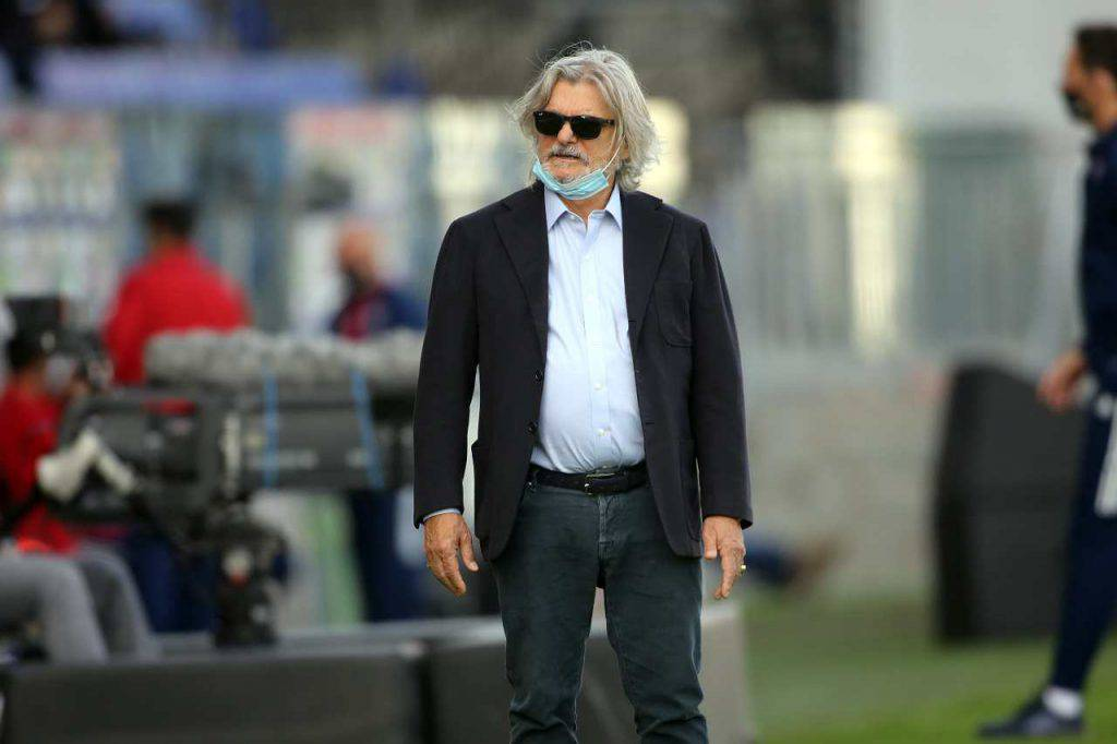 Sampdoria Massimo Ferrero