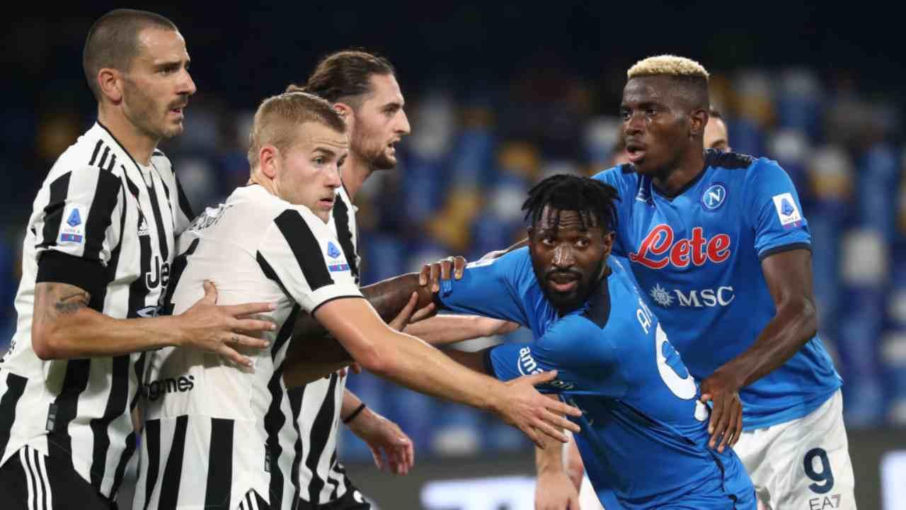Napoli Juventus Squalifiche
