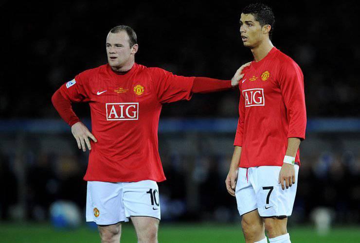 Rooney Cristiano Ronaldo