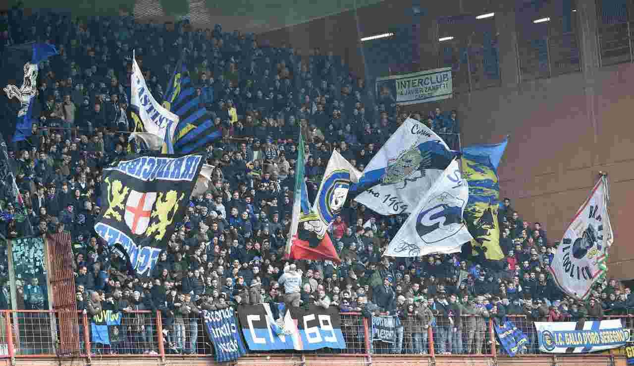 Sampdoria Inter Tifosi Coro
