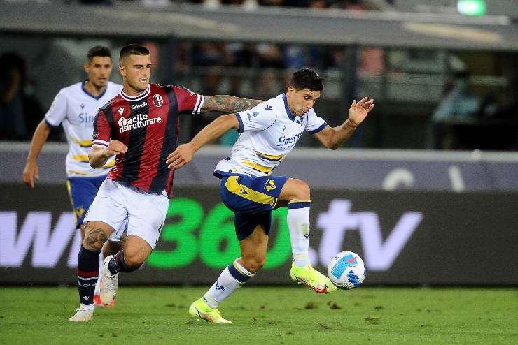Simeone, attaccante del Verona