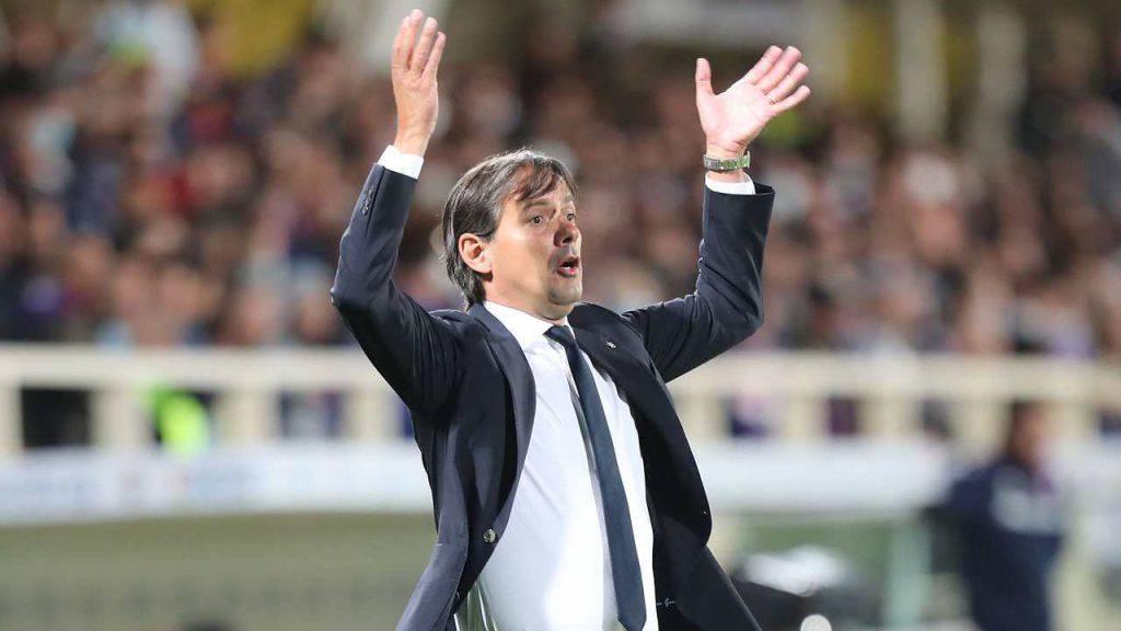 Simone Inzaghi, allenatore dell'Inter