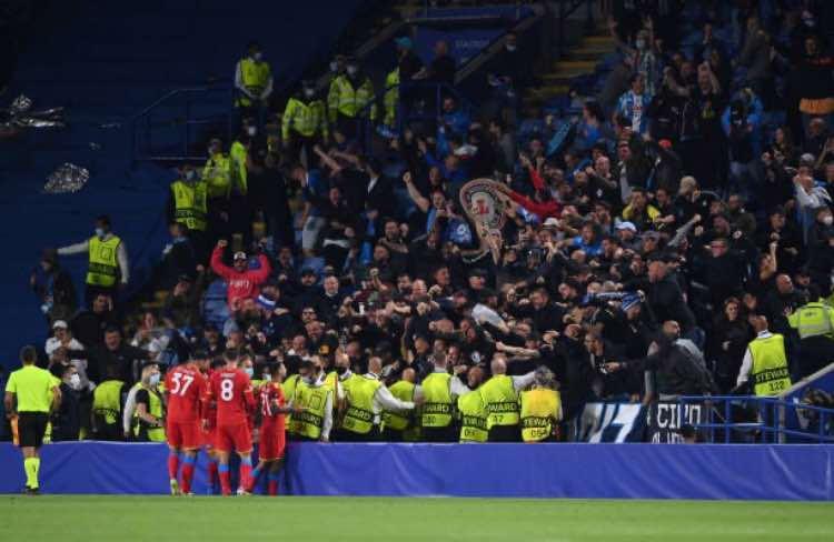 Leicester Napoli tifosi