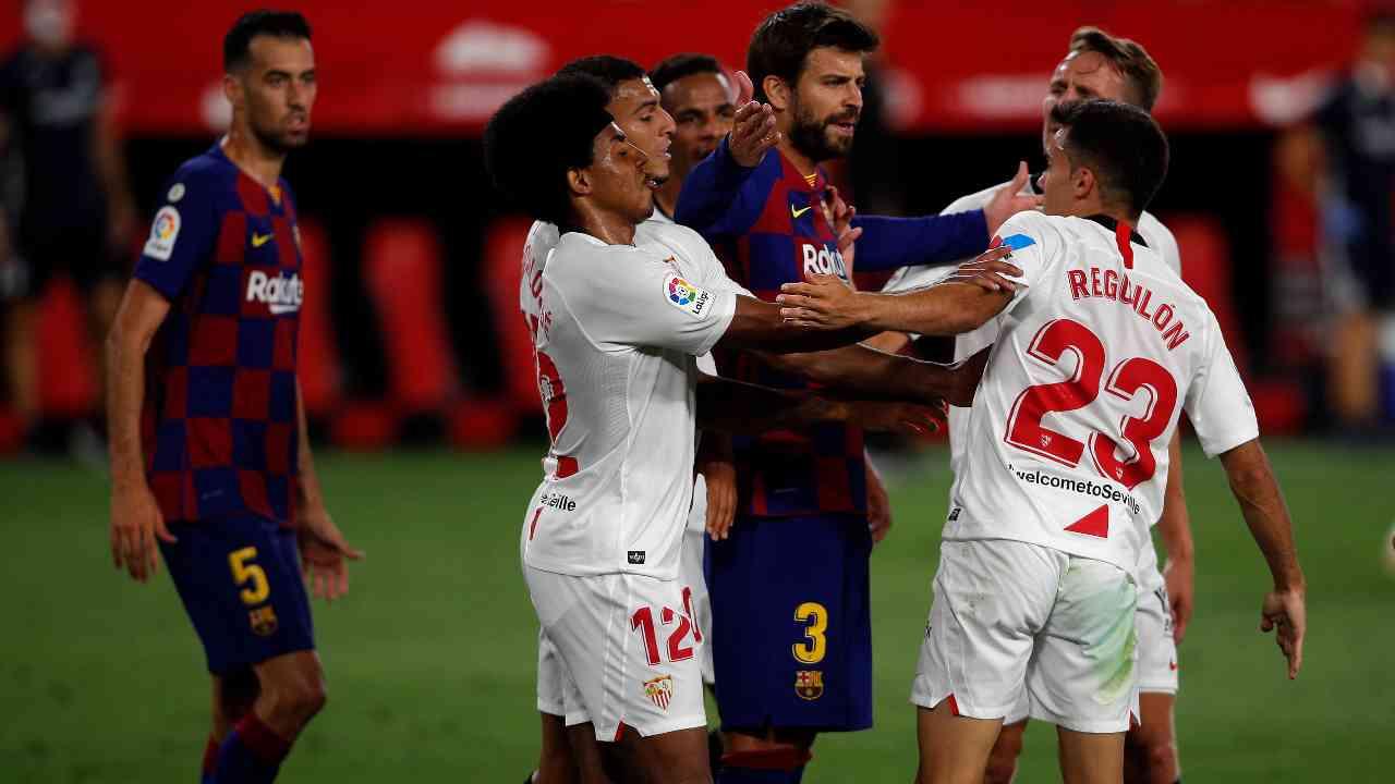 Liga Siviglia Barcellona