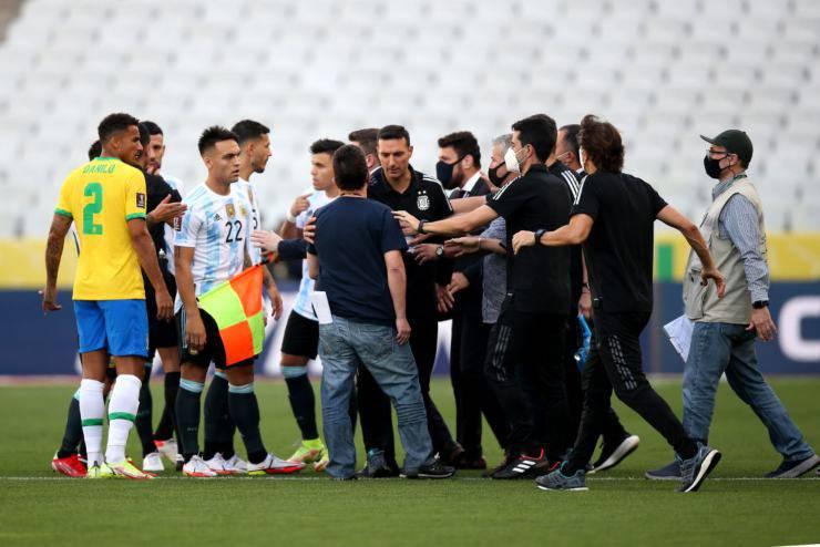 Brasile-Argentina sospesa, il motivo della decisione