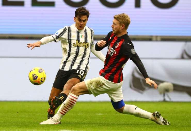 Juventus-Milan, il record di Dybala