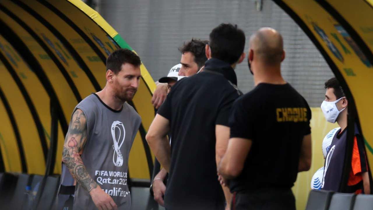 Messi furioso, lo sfogo dopo Brasile-Argentina è virale: cosa ha detto