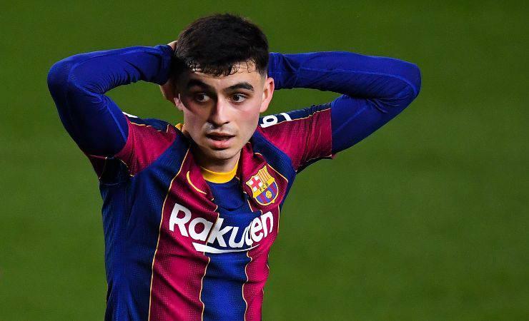 Pedri, centrocampista del Barcellona